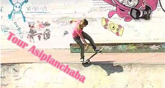 ahora un poco de skate dedicado a las chicas les presentamos un ...