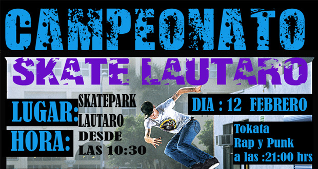 camp laut Campeonato Skate, Lautaro   IX Región eventos  foto photo