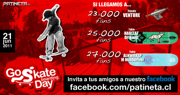 goskate2011 2 FELIZ DIA DEL SKATE! REGALAMOS TRUCKS Y TABLAS!! articulos  foto photo