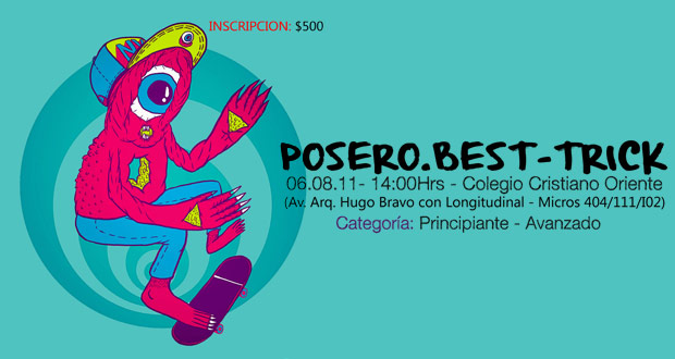 poserobestrick Posero   Best Trick Colegio Cristiano Oriente   Santiago. eventos  foto photo