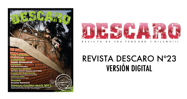 descaro23dig REVISTA DESCARO N 23 VERSION DIGITAL articulos  foto photo