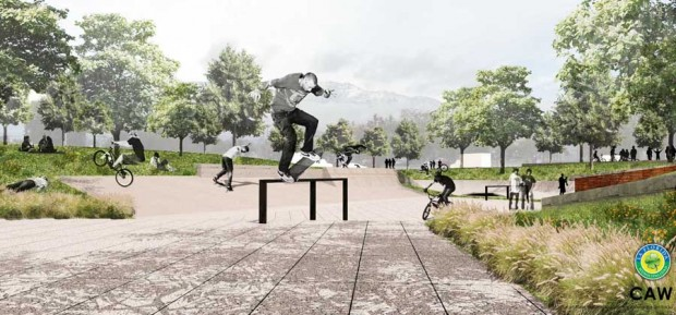 2 e1371081401656 Proyecto Skate Bike Plaza La Florida articulos  foto photo