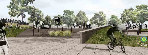 4 e1371081444972 Proyecto Skate Bike Plaza La Florida articulos  foto photo