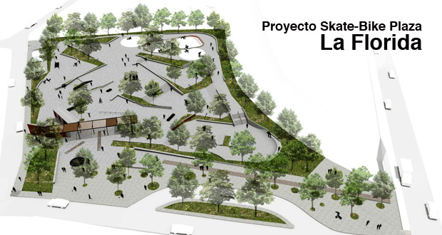 La Florida Skatepark Proyecto Skate Bike Plaza La Florida articulos  foto photo