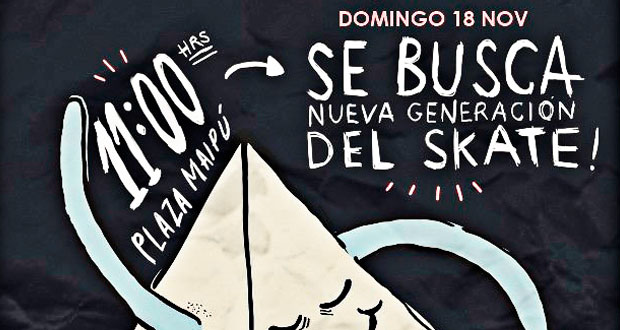 Se-Busca-Nueva-Generacion-del-Skate-en-Plaza-Maipu