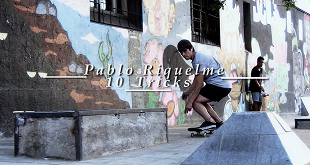 NoPatina Films: 10 tricks Pablo Riquelme en Streetpark Tepian(Videos)