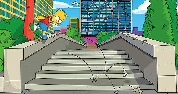 Los-Trucos-de-Bart-Simpson---Skatebook