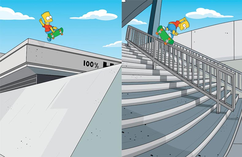 bart simpsons gonz gap